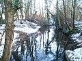 Melingriffith feeder stream, Radyr, Cardiff - geograph.org.uk - 2191379.jpg