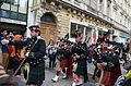 Memorial Day parade forms on Champs-Elysees 4, Paris 25 May 2014.jpg