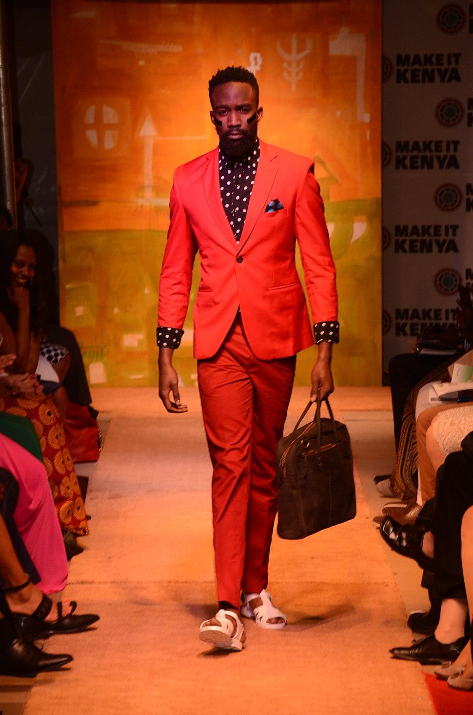Men's Design by John Kaveke - at the Fashion Show (28400768376)