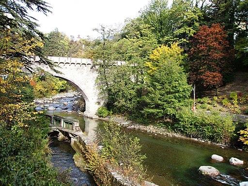 Meran Brücke über den Passer
