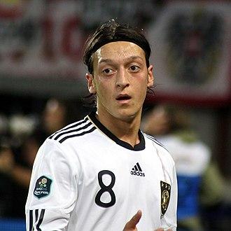 2013–14 Arsenal F.C. season - Image: Mesut Özil, Germany national football team (02)