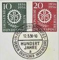 Mi.-Nr. 138 und 139 mit Ersttagsstempel - VDI Briefmarken.tif