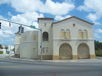 Fire Station No. 2 (Miami, Florida) - Image: Miami FL Fire Station 2 01