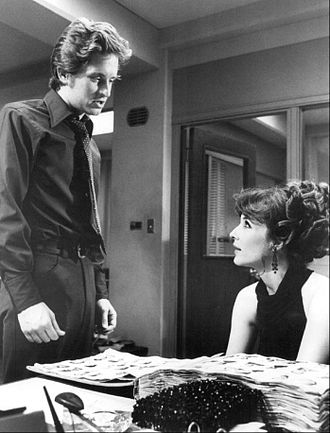 "The Streets of San Francisco - Douglas (left) as Steve Keller, with Janice Rule as Beverly Landau in ""The First Day of Forever"" (season one, episode two)"