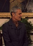 Michael Manley during an Oval Office meeting 1977 (cropped).jpg