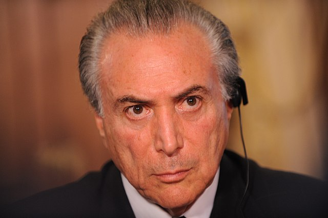 Michel_Temer.jpg: Brazil President Michel Temer banned for eight years