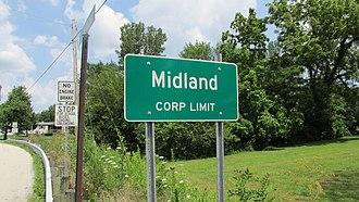 Midland, Ohio - Image: Midland 1