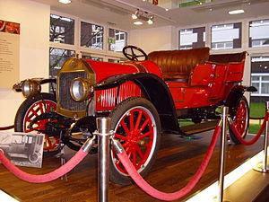 "Miele - Miele car ""K 1"" (1913), Miele museum in Gütersloh"