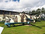 Mil Mi-24 at Central Air Force Museum pic1.JPG