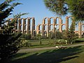 Milagros Roman Aqueduct, Merida, Spain, 2012-10-3.JPG