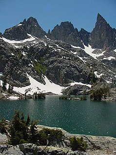Minaret Lake in der Ansel Adams Wilderness