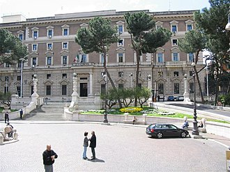 Ministry of the Interior (Italy) - Palazzo del Viminale.