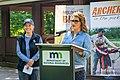 Minnesota Lt. Gov Peggy Flanagan and DNR Commissioner Sarah Strommen.jpg