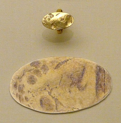 Sellopoulo chamber tomb ring