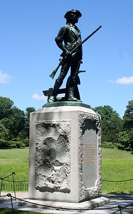 Minuteman statue 1 - Old North Bridge.jpg