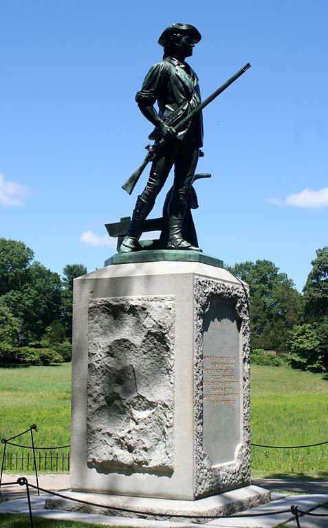 Monday Monument: The Concord Minuteman