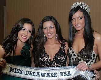 Miss Delaware USA - Nicole Bosso, Julie Citro, Vincenza Carrieri-Russo