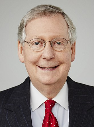 116th United States Congress - Senate Republican leader Mitch McConnell