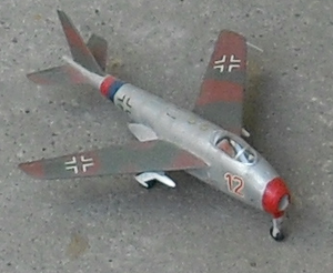 Model Messerschmittu P. 1101