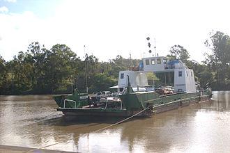 Moggill, Queensland - Moggill Ferry, 2008