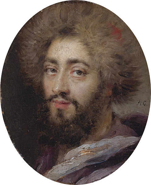 Fichier:Mohammed Reza Bey, Persian Ambassador to France, during the reign of Louis XIV by Antoine Coypel.jpg
