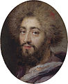 Mohammed Reza Bey, Persian Ambassador to France, during the reign of Louis XIV by Antoine Coypel.jpg