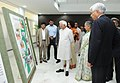 Mohd. Hamid Ansari visits an exhibition on ICED, at the inauguration of the International Centre for Environment Audit & Sustainable Development, in Jaipur, Rajasthan. The Governor of Rajasthan.jpg