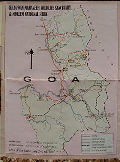 Bhagwan Mahaveer Sanctuary and Mollem National Park  Wikipedia
