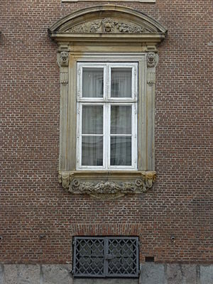 Moltke's Mansion -  Window detail