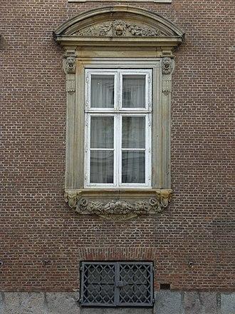 Moltke's Mansion - Window detail