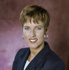 Monique Somers in 1995