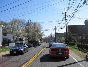 Monmouth Junction, New Jersey - Center of Monmouth Junction