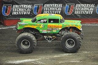 Avenger (truck) monster truck