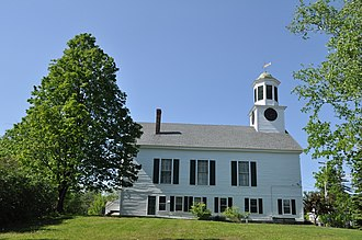 Mont Vernon, New Hampshire - Image: Mont Vernon NH Town Hall