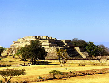 Monte Alban West Side Platform