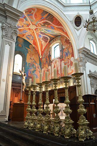 Monterrey Cathedral - Internal View