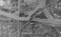Montrose Swing Bridge aerial photo 1934.png