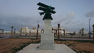 Aéropostale (aviation) - Aéropostale monument in Tarfaya.