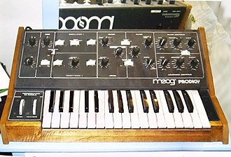The Prodigy - The band were named after the Moog Prodigy synthesiser