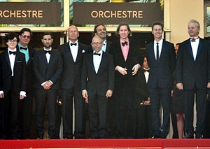 Moonrise Kingdom - Director and stars at the 2012 Cannes Film Festival.