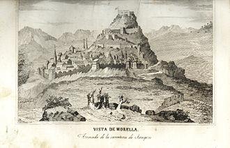 Morella, Castellón - Image: Morella Calbo