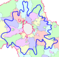 Moscow Urban Agglmeration, Russia, Lappo 1987 version.png