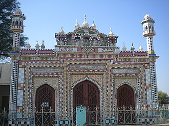 Jhelum District - A masjid on Jhelum-Pind Dadan Khan Road