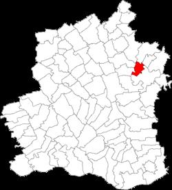 Vị trí của Mosteni