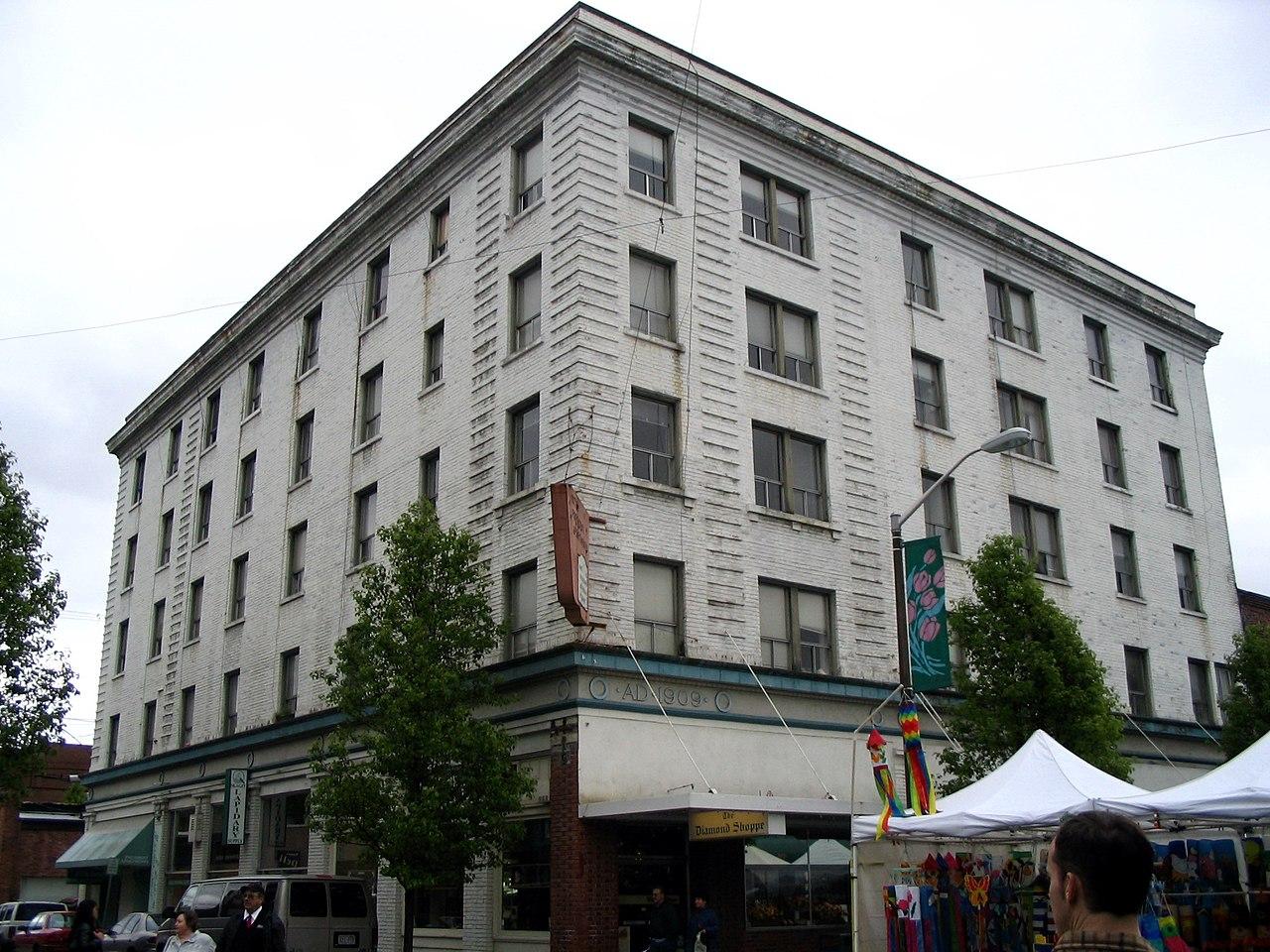 File Mount Vernon Wa President Hotel Jpg Wikimedia