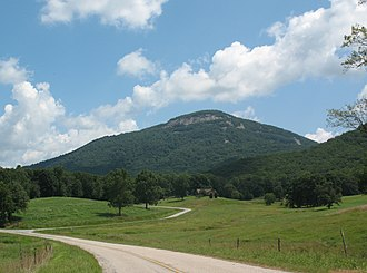 Yonah Mountain - Yonah Mountain in summer.