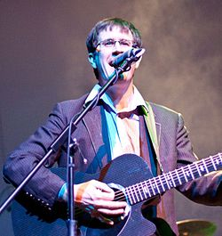 John Darnielle dei The Mountain Goats nel 2010