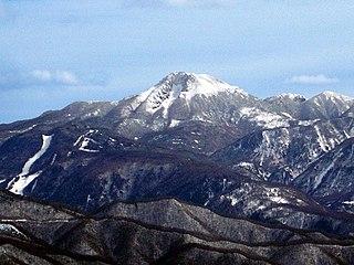 Mount Nikkō-Shirane mountain in Tochigi Prefecture, Japan