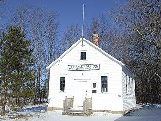 Joshua Slocum - Slocum's childhood school, now the Mount Hanley Schoolhouse Museum