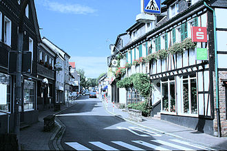Much, North Rhine-Westphalia - Much Main road